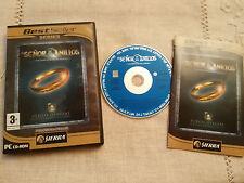 EL SEÑOR DE LOS ANILLOS LA COMUNIDAD DEL ANILLO PC CD-ROM ESPAÑOL SIERRA