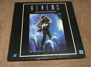 Laserdisc Aliens box set 4 discs & booklet