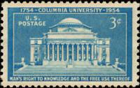 Scott#: 1029 - Columbia University Single Stamp MNH OG