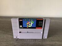 Super Mario World (Super Nintendo, 1991) Authentic SNES Game Cartridge - Tested