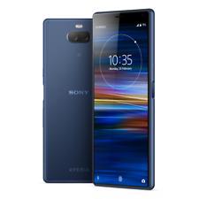 "Sony Xperia 10 I4193 64GB Blue 6"" 13+5MP Dual Camera 4K Phone by Fed-ex"
