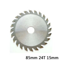 85mm 24Teeth Bore TCT Circular Saw Blade Disc For WORX WX423 ROCKWELL RK3440K