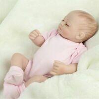 10'' Mini Reborn Baby Toy Doll Lifelike Newborn Babies Cute Girl Dolls Gift