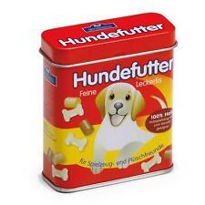 Comida para perros de madera en una lata por ERZI finja el juego Juguete de cocina de tienda de comestibles comestibles