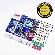 Custom sticker for LEGO 10184 10232 Palace Cinema, Batman, Premium quality