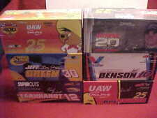 #12 #30 #25 #25 #10 #5 MULTIPLE 1/24 CLEAR WINDOW ACTION 1/2 CASE (6)SIX CAR LOT