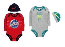 Nike Baby Set JDI Bodysuit & Hat Just Do It Gift 100% Cotton 6-12 months