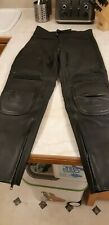 J&S Leather Motorcycle Trousers