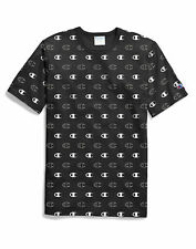 Champion Life Logo Tee T-shirt Mens Assorted Logo Style Athletic Fit 100% Cotton