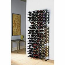 104 Bar Bottle Wine Rack Holder Modular Metal Shelf Shelves Stand Liquor Storage