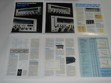 Marantz Receivers Brochure, 2330b, 2285b, 2265, 6 Pages, 1977, Articles and Info