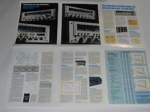 Marantz Empfänger Prospekt, 2330b, 2285b, 2265, 6 Seiten, 1977, Artikel Und Info