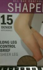 @@@ Natural average all day control flatten tummy lift bottom new 15 denier new