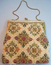 Vintage Beaded Multi-color Evening Bag