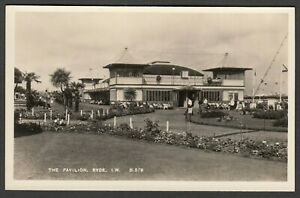Postcard Ryde on Isle of Wight the Pavilion RP by G Dean the Bay Series