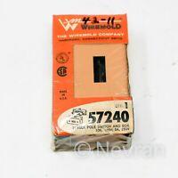 Wiremold 57240 Single Pole Switch and Box 10A, 125V; 5A, 250V