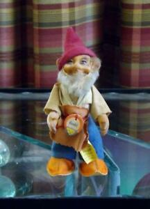 """Steiff Gucki Gnome Elf Doll 871301 Button & Hang Tag 5"""" Germany"""