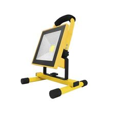LED Flutlicht Akku Fluter Strahler Handlampe Baustrahler Baulampe 20W 4400mAh
