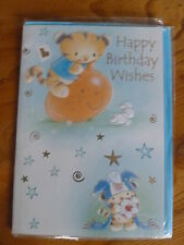 CHILDS CARD HAPPY BIRTHDAY WISHES