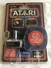 Vintage Atari Joystick Keychain Basic Fun 2006 Asteroids Millipede New Sealed