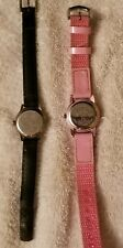 Disney Tinkerbell watches (lot of 2) 1 by SII  and 1 by 3ATM  (parts as is)