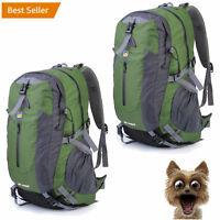 2X 40L Outdoor Hiking Camping Backpack Trekking Climbing Travel Rucksack Bag WF