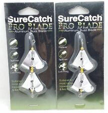 SureCatch Aluminium Pro Blde Buzz Blade Propeller Double Small 2packs