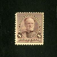 US Stamps # 225 F-VF OG NH Scott Value $135.00
