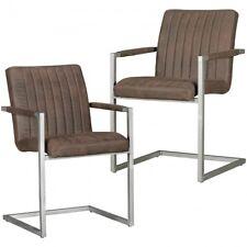 Schwingstühle Esszimmerstühle - ANDRE - Freischwinger  Stühle in 2er-Set