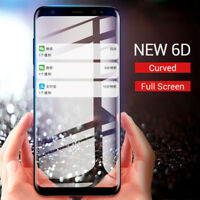 6D Curved Edge Tempered Glass For Samsung Galaxy S8 S9 S6 S7 Edge Protector Film