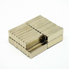 10x Neodymium Magnet Rare Earth Block 30x10x5mm Strong Craft Rectangular Magnet