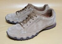Skechers Relaxed Fit Memory Foam Womens Suede Leather Sneakers Shoes 9