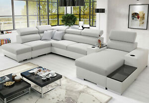 Brand New corner sofa bed with storage Perseo V