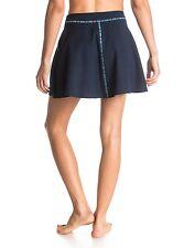 Roxy Woman Small Skirt Blue Navy Flip  It High Waisted