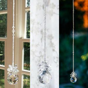 Window Rainbow Handmade Suncatcher Crystal Prisms Ball Pendant Hanging Decor