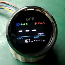 52mm Car Boat Digital GPS Speedometer Odo Gauge Indicators 0~999 MPH Knot Km/h