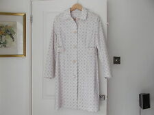 Dorothy Perkins UK Size 12 / Euro 40 Lined Summer Coat with Collar Multi Spot