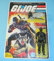 1985 GI Joe Snake Eyes v2 Complete Sealed MOC *CUSTOM* Full Card Back **READ**