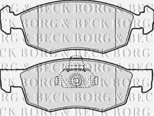BORG & BECK BBP1886 BRAKE PAD SET FOR DISC BRAKE FRONT AXLE RC569034P OE QUALIT
