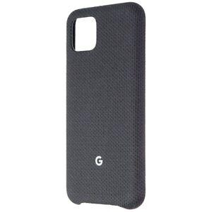 Official Google Fabric Case for Google Pixel 4 Smartphones - Just Black