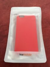 iPHONE 6 PLUS CASE SILICON RED BRAND NEW