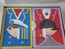 Vintage Congress double set playing cards Sailor & Jockey / Horse