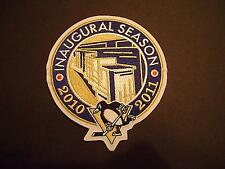 PITTSBURGH PENGUINS BLACK INAUGURAL CONSOL ENERGY PATCH