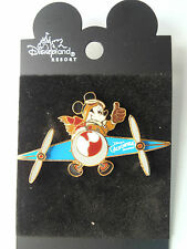 Disney Pin 6323 DLR DCA Mickey in Airplane Propellers Spin 2001 Rare VHTF New