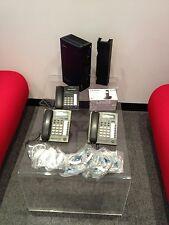 PANASONIC KX-TDA15 IP PBX with 3 KX-T7665 Handset and 1 KX-TH2511