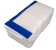 1 Ply White Paper Napkins / Serviettes 33cmx33cm x 1000