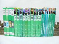 Lot de 22 livres Alfred HITCHCOCK Bibliotheque verte années 60's à 90's vintage