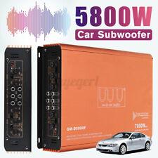 AUDIO SYSTEM mini 4-Kanal Verstärker Stereo 7800 Watt Auto PKW Endstufe klein ?