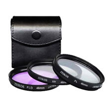 46mm Deluxe Filter Kit For UV PL FD For Canon Nikon Camera Lens