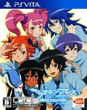 Used PS Vita Captain Earth: Mind Labyrinth Japan import  Free Shipping